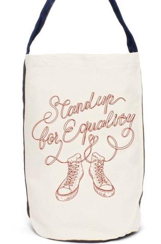 「Marriage For All Japan – 結婚の自由をすべての人に」チャリティアイテムである「jammin 」のバッグが届きました